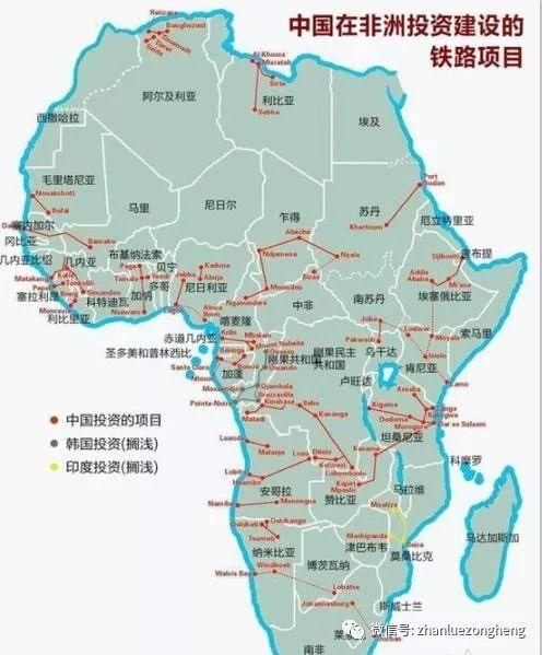 中国在非洲投资建设的铁路有多牛